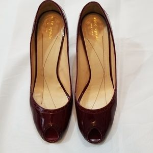 kate spade Ruby Giselle Patent Leather Pump
